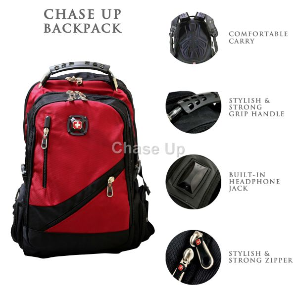 Gents Backpack 8815 TI-004 Imp (Red)